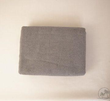 Fouta Saunatuch Nid-Unis Grau